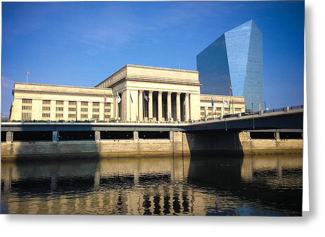 30th Street Station Greeting Card by Trish Tritz