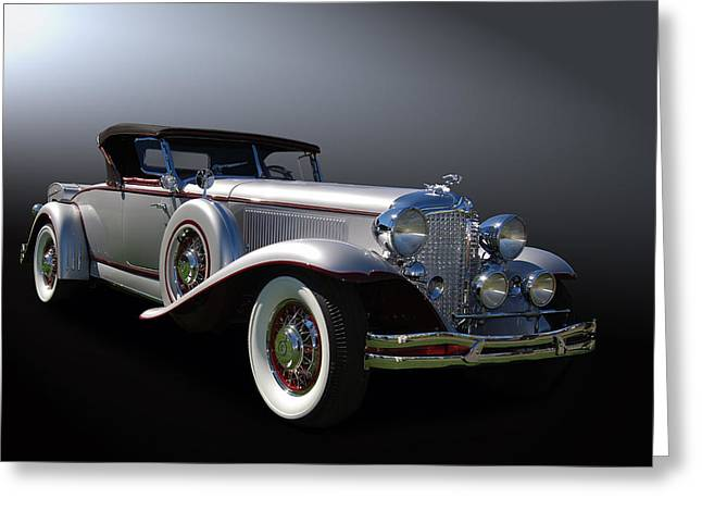 31 Chrysler Imperial Greeting Card by Bill Dutting