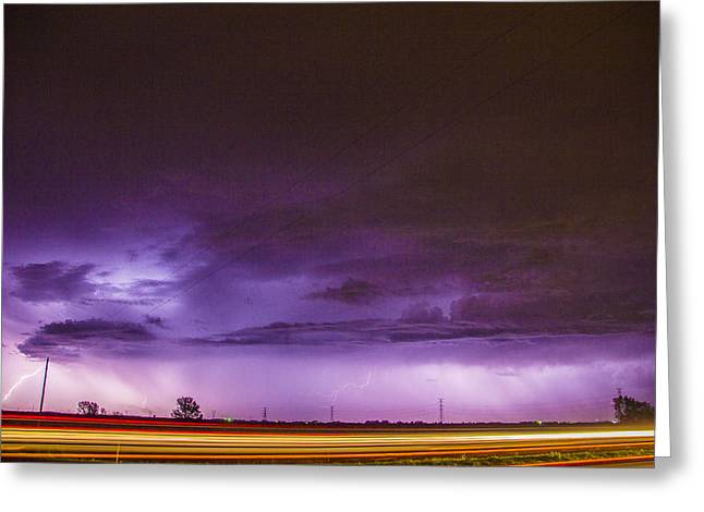 6th Storm Chase 2015 Greeting Card
