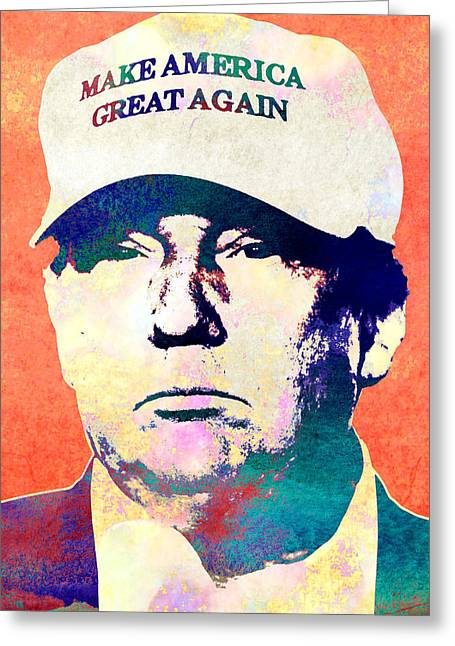 Donald Trump 2016 Presidential Candidate Greeting Card