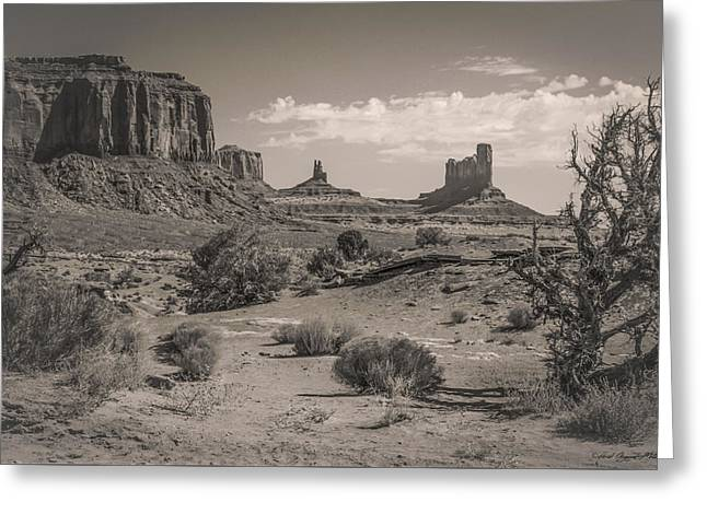 #3326 - Monument Valley, Arizona Greeting Card