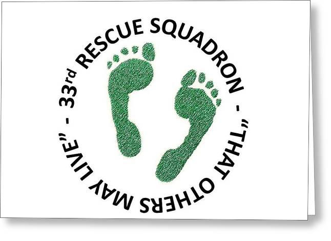 33rd Rescue Squadron Greeting Card