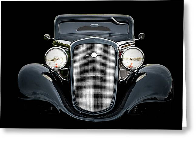 34 Chevy Sedan Delivery Greeting Card by Bruce Tracy