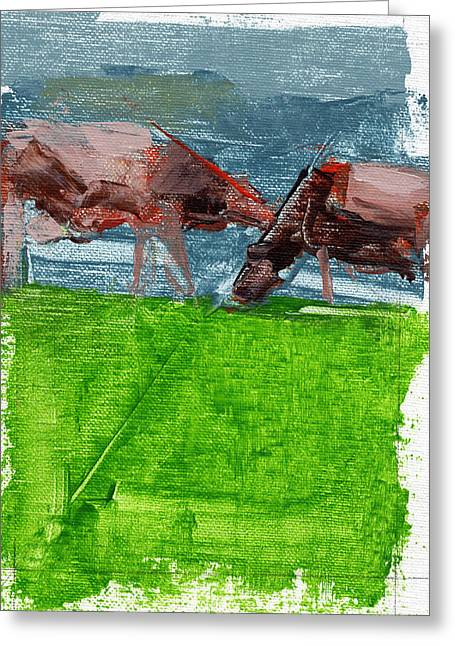 Swiss Greeting Cards - RCNpaintings.com Greeting Card by Chris N Rohrbach