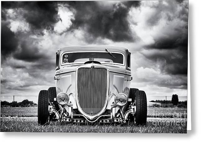 34 Rod Greeting Card by Tim Gainey
