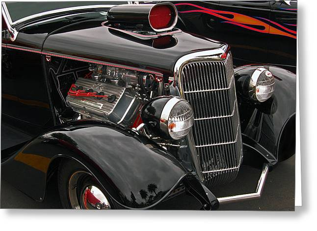 35 Cabriolet Greeting Card