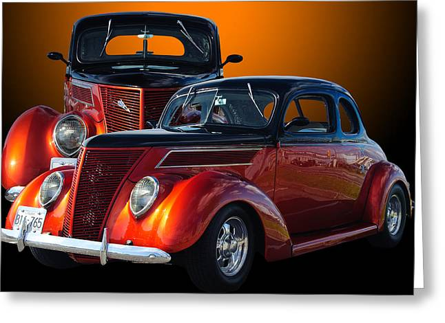 35 Ford Greeting Card