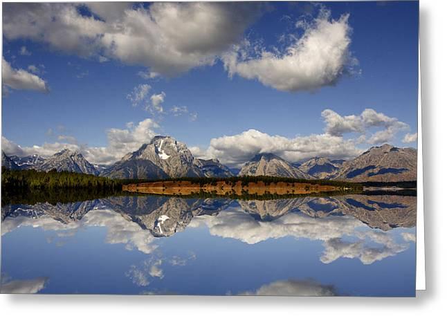 Grand Teton National Park Greeting Card