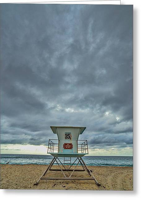 35 Greeting Card by Peter Tellone