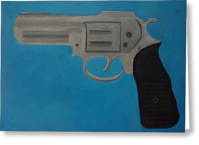 357 Magnum Greeting Card by Patrice Tullai