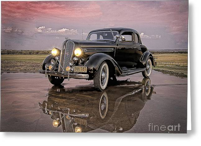 36 Plymouth Reflections Greeting Card