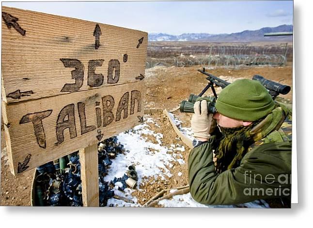360 Taliban Greeting Card