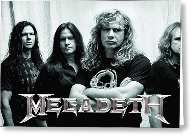 37515 Megadeth Greeting Card