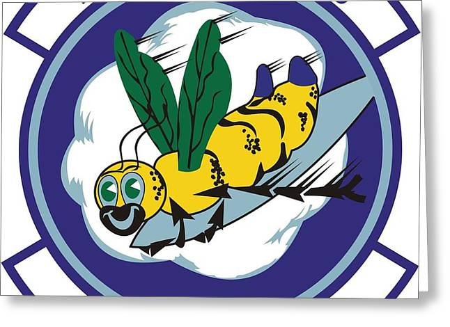 37th Tactical Airlift Squadron Greeting Card