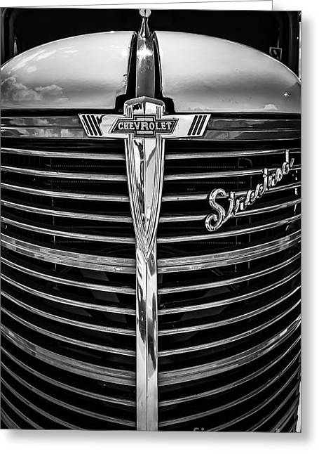 38 Chevy Truck Grill Greeting Card