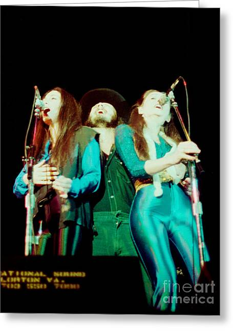 38 Special - Cow Palace San Francisco 3-15-80 Greeting Card by Daniel Larsen