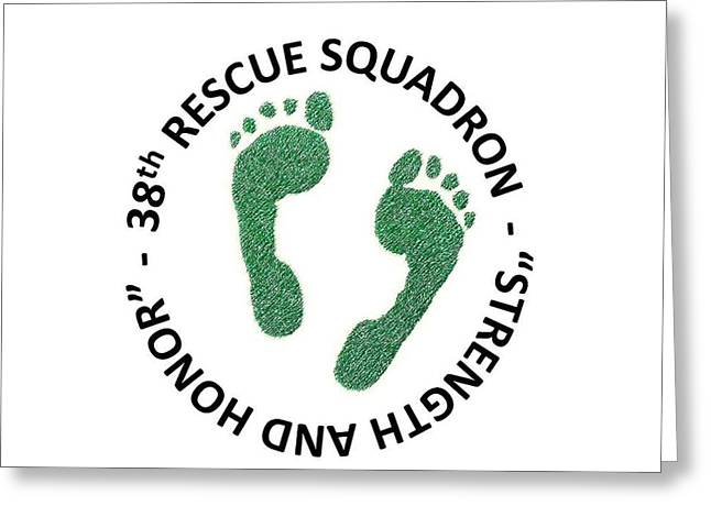 38th Rescue Squadron Greeting Card