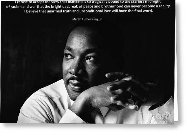 39- Martin Luther King Jr. Greeting Card