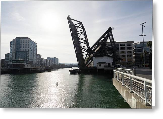 3rd Street Bridge Lefty O'doul Bridge San Francisco Dsc5778 Greeting Card