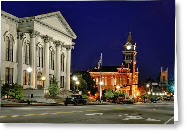 3rd Street In Wilmington North Carolina Greeting Card