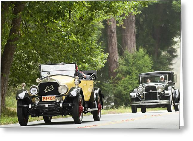 Car Show Photography Greeting Cards - 1925 Stutz 695 Speedway Sportster Greeting Card by Jill Reger