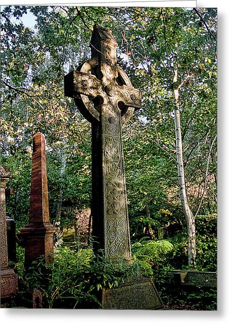 Abney Park Cemetery Greeting Card by Oliver Kluwe