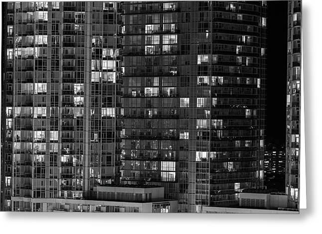 Abstract Architecture - Mississauga Greeting Card