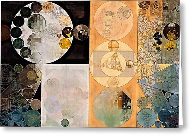 Abstract Painting - Pancho Greeting Card by Vitaliy Gladkiy