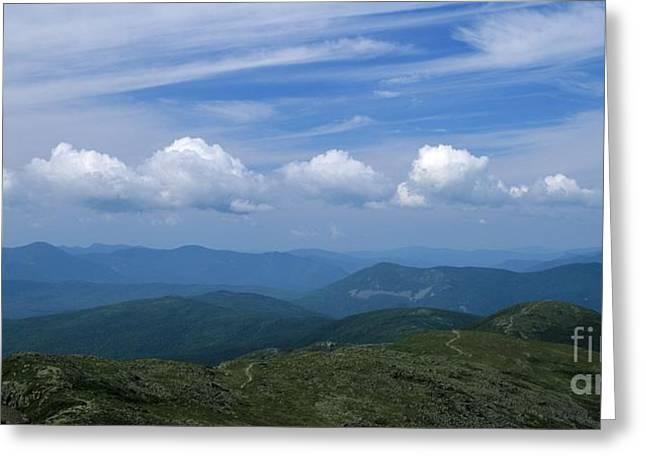 Appalachian Trail - White Mountains New Hampshire Usa Greeting Card by Erin Paul Donovan