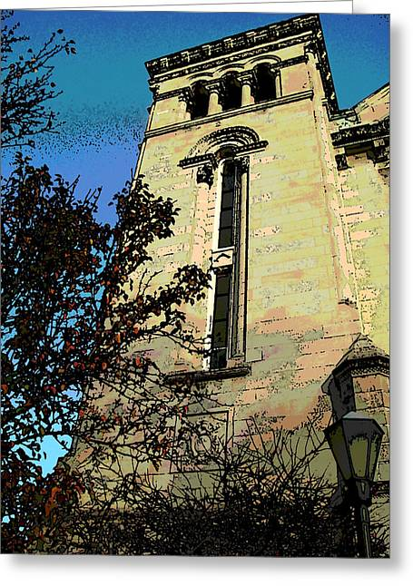 Architecture Series Greeting Card by Ginger Geftakys