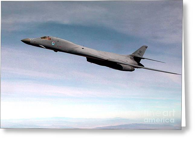 B-1 Lancer Greeting Card by Air Force