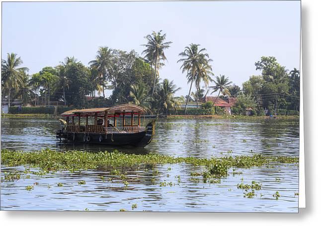 Backwaters Kerala - India Greeting Card