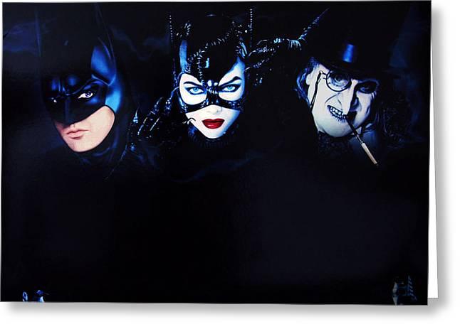 Batman Returns 1992 Greeting Card by Unknown