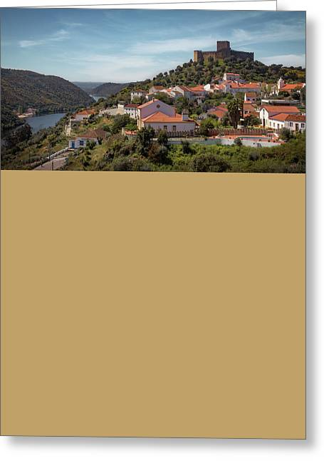 Greeting Card featuring the photograph Belver Landscape by Carlos Caetano