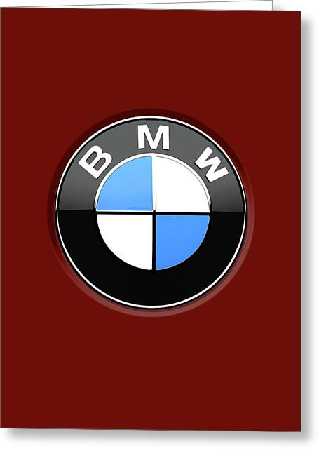 Bmw Logo Greeting Cards