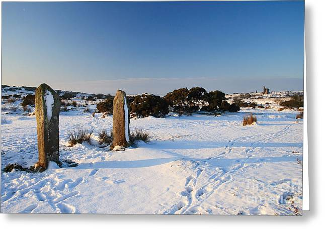 Bodmin Moor Greeting Card by Carl Whitfield