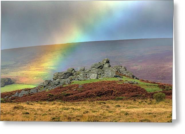 Bonehill Rocks - Dartmoor Greeting Card