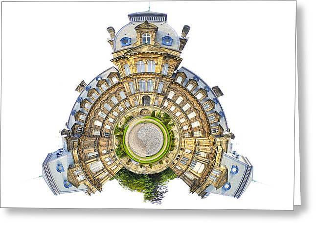 Bowes Museum Greeting Card by Nichola Denny
