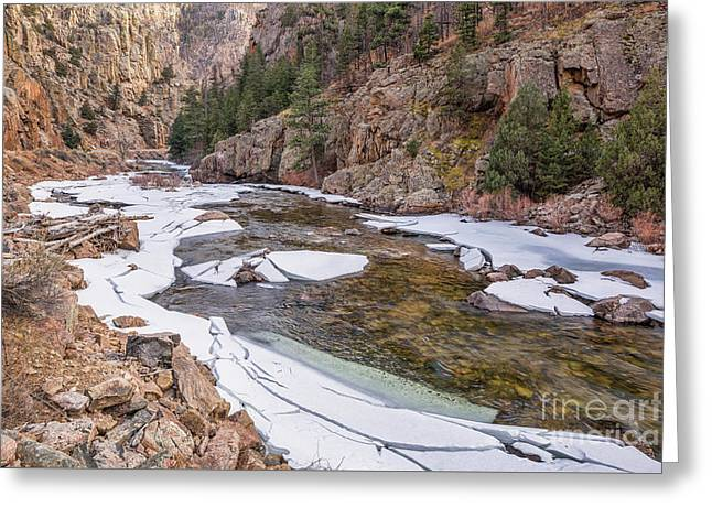Cache La Poudre River  Greeting Card
