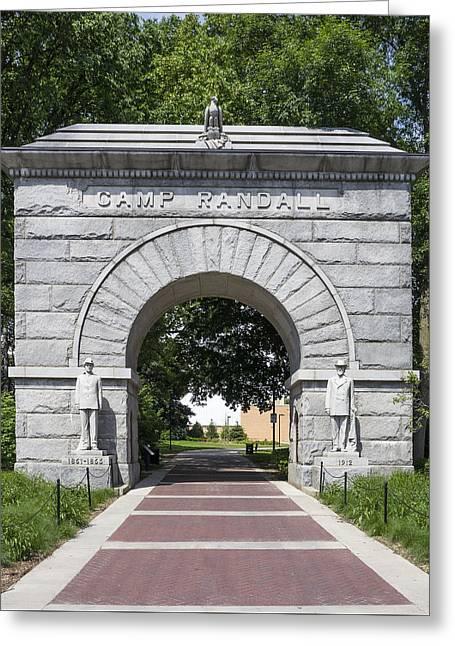 Camp Randall Memorial Arch - Madison Greeting Card