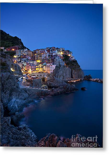 Greeting Card featuring the photograph Cinque Terre by Brian Jannsen