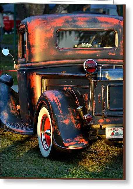 Classic Ford Pickup Greeting Card by Dean Ferreira