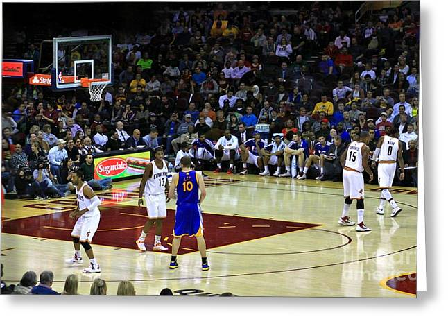 Cleveland Cavaliers Greeting Card