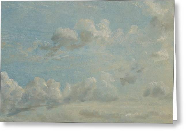 Cloud Study Greeting Card