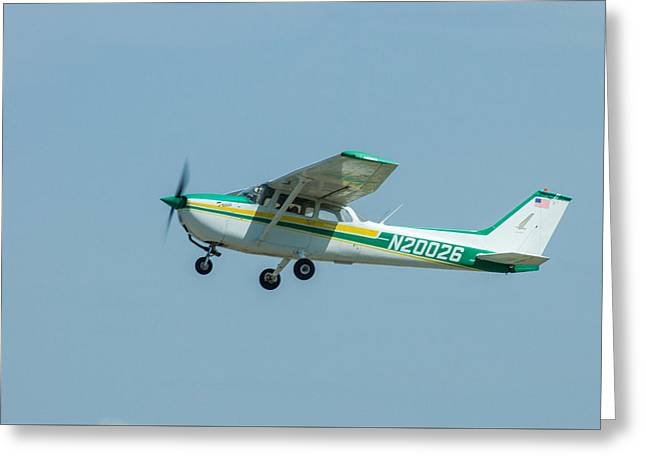 Cracker Fly-in Greeting Card by Michael Sussman