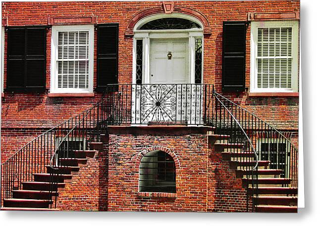 Davenport House Greeting Card by JAMART Photography