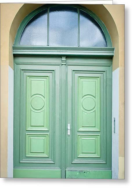 Doorway Greeting Card by Tom Gowanlock