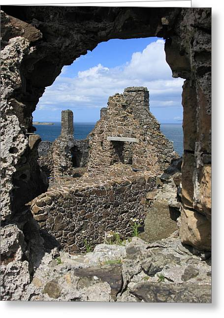 Dunluce Castle Northern Ireland Greeting Card by Pierre Leclerc Photography