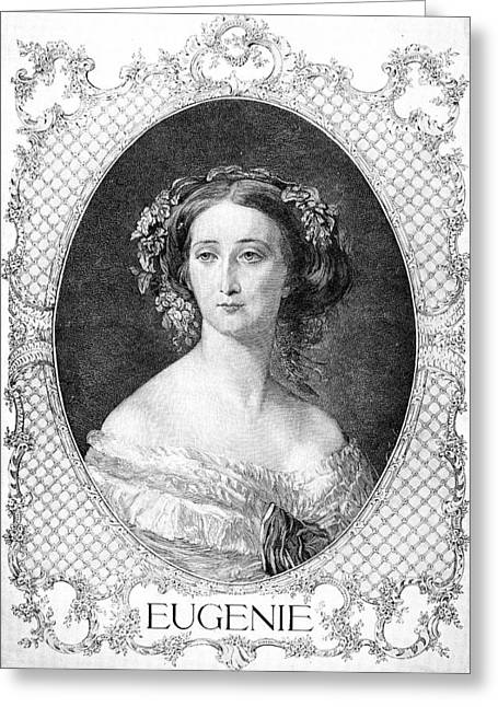 Empress Eugenie Of France Greeting Card by Granger