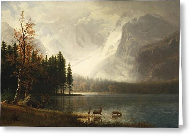 Estes Park, Colorado, Whyte's Lake Greeting Card